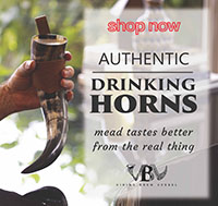 Viking Brew Vessels - Authentic Drinking Horns