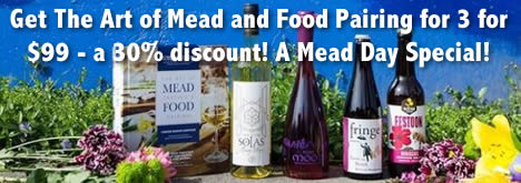 30% Off Pairing Mead and Food!